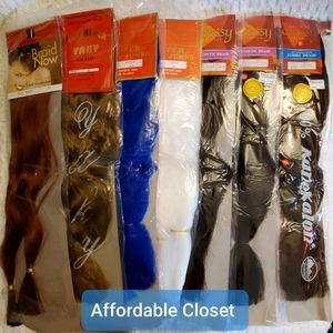 Accessories - •Synthetic Hair (Lot of 7 + BONUS!)